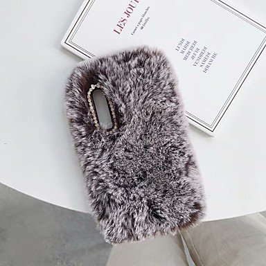 voordelige iPhone X hoesjes-hoesje Voor Apple iPhone XS / iPhone XR / iPhone XS Max DHZ Achterkant dier Zacht tekstiili