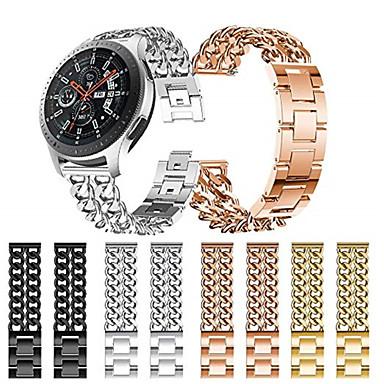 voordelige Smartwatch-accessoires-Horlogeband voor Gear S3 Frontier / Gear S3 Classic / Samsung Galaxy Watch 46 Samsung Galaxy Sportband Roestvrij staal Polsband