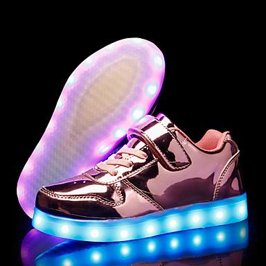 povoljno Beba & Djeca-Djevojčice Svjetleće tenisice PU Sneakers Mala djeca (4-7s) / Velika djeca (7 godina +) Zlato / Srebro / Pink Jesen / Guma