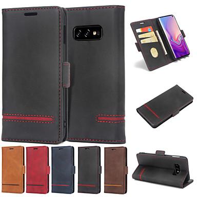 Case Kompatibilitás Huawei Huawei P30 / Huawei P30 Pro / Huawei P30 Lite Pénztárca / Kártyatartó / Flip Héjtok Egyszínű Kemény PU bőr