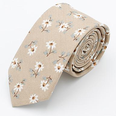 ربطة العنق ورد / طباعة رجالي حفلة / عمل / رياضي Active