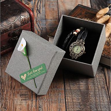 povoljno Muški satovi-Kutije za sat Miješani materijal Satovi dodaci 0.032 kg Kreativan / New Design / Zgodan
