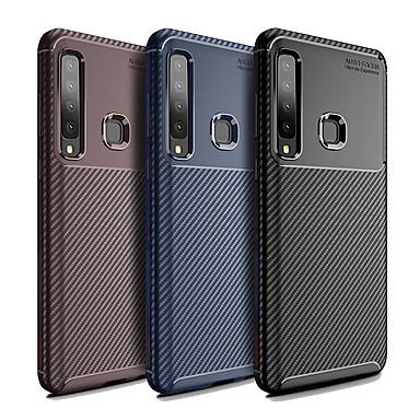 voordelige Galaxy A-serie hoesjes / covers-hoesje Voor Samsung Galaxy Galaxy A7(2018) / A9 Star / A8 Stofbestendig Achterkant Effen / Lijnen / golven Zacht TPU