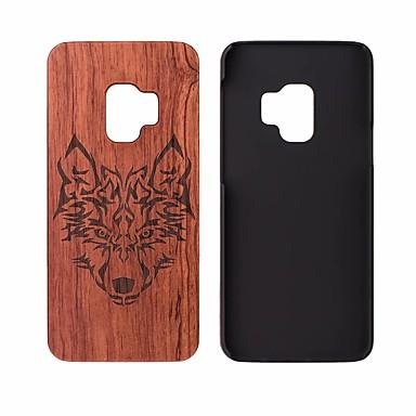 povoljno Maske/futrole za Galaxy S seriju-Θήκη Za Samsung Galaxy S9 / S9 Plus Otporno na trešnju Stražnja maska Uzorak drva Tvrdo drven