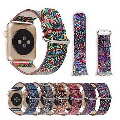 voordelige Smartwatch-accessoires-Horlogeband voor Apple Watch Series 5/4/3/2/1 Apple Sportband Gewatteerd PU-leer Polsband
