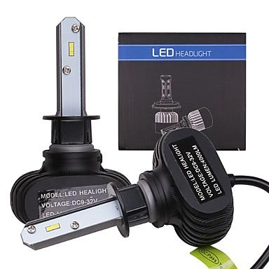 voordelige Autokoplampen-OTOLAMPARA 2pcs H10 / H9 / H3 Automatisch Lampen 25 W CSP 4000 lm 2 LED Koplamp Voor Volkswagen / Ford Focus / Touran / Sharan 2019