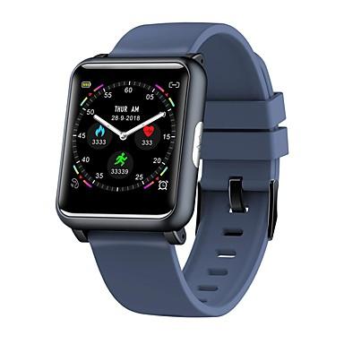 503c789a3675 KUPENG H9 Unisex Reloj elegante Android iOS Bluetooth Smart Deportes  Impermeable Monitor de Pulso Cardiaco Medición de la Presión Sanguínea  Podómetro ...