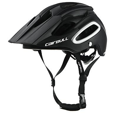 ieftine Căști-CAIRBULL Adulți biciclete Casca BMX Casca 18 Găuri de Ventilaţie Modelată integral Lumina Greutate Plasă de Insecte ESP+PC PC Sport Exerciții exterior Ciclism / Bicicletă Bicicletă - Negru Alb Verde