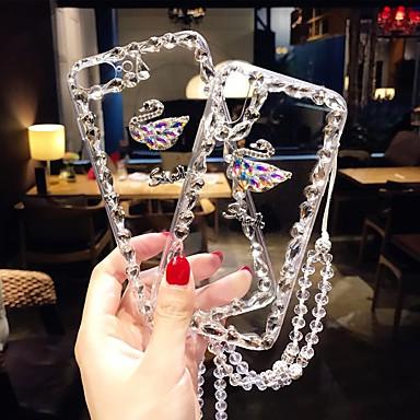povoljno Maske za mobitele-Θήκη Za Huawei Huawei P20 / Huawei P20 Pro / Huawei P20 lite Otporno na trešnju / Štras Stražnja maska Umjetno drago kamenje Tvrdo TPU / P10 Plus / P10 Lite / P10 / Mate 9 Pro