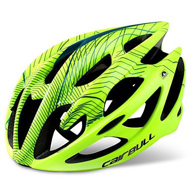 ieftine Căști-CAIRBULL Adulți biciclete Casca 21 Găuri de Ventilaţie Modelată integral Lumina Greutate Plasă de Insecte EPS PP (Polipropilenă)  Sport Ciclism / Bicicletă - Negru Alb Fucsia Bărbați Pentru femei