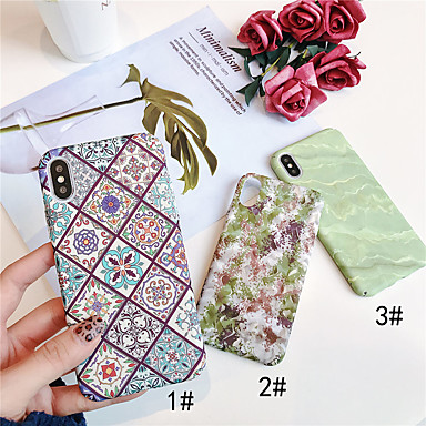 voordelige iPhone 6 hoesjes-hoesje Voor Apple iPhone XS / iPhone XR / iPhone XS Max Glow in the dark / Patroon Achterkant Planten Hard PC