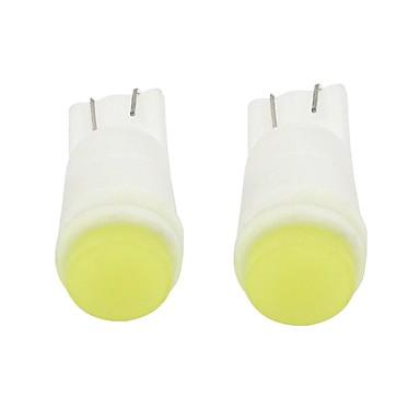olcso Autó világítás-2pcs T10 / W5W Autó Izzók 1 W COB 100 lm 1 LED Belső világítás Kompatibilitás Univerzalno Minden évjárat