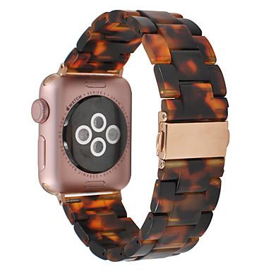 Недорогие Аксессуары для смарт-часов-Ремешок для часов для Серия Apple Watch 5/4/3/2/1 Apple Дизайн украшения Керамика Повязка на запястье