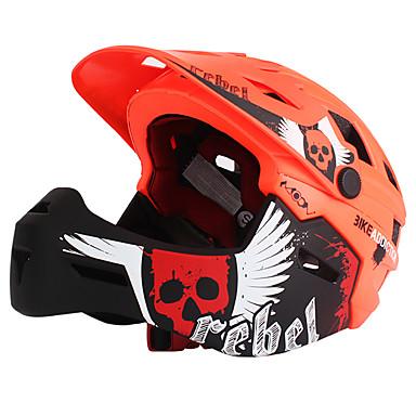 ieftine Căști-MOON Pentru copii Adolescent biciclete Casca BMX Casca 22 Găuri de Ventilaţie Modelată integral Ventilație Plasă de Insecte ESP+PC EPS EVA Sport Exerciții exterior - Portocaliu Verde Albastru Băieți