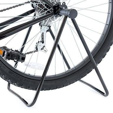 olcso Első és hátsócsomagtartók-Kerékpár kitámasztó Háromszög kerékpár állvány Összecsukható Univerzalno Flexibilis Alumínium Fém Treking bicikli Mountain bike BMX