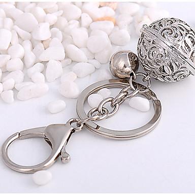 رخيصةأون سلاسل المفاتيح-سلسلة المفاتيح موضة خواتم مجوهرات فضي من أجل مناسب للبس اليومي مواعدة