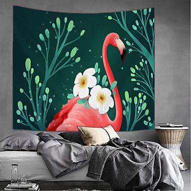 povoljno Wall Art-Vrt Tema / Cvjetni Tema Zid Decor 100% poliester Moderna Wall Art, Zidne tapiserije Ukras