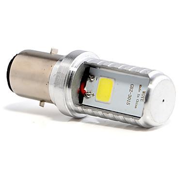 Недорогие Фары для мотоциклов-1pcs BA20D Мотоцикл Лампы 4 W COB 450 lm 1 Светодиодная лампа Противотуманные фары Назначение Все года