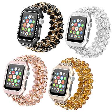 voordelige Apple Watch-bandjes-Horlogeband voor Apple Watch Series 5/4/3/2/1 Apple Sieradenontwerp / DHZ Gereedschap Roestvrij staal / Keramiek Polsband