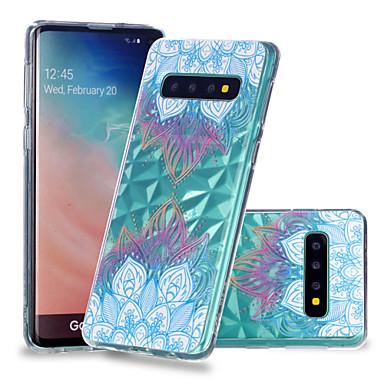 voordelige Galaxy S-serie hoesjes / covers-hoesje Voor Samsung Galaxy S9 / S9 Plus / S8 Plus Schokbestendig / Transparant / Patroon Achterkant Mandala Zacht TPU