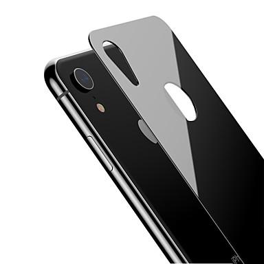 olcso iPhone XR képernyővédő fóliák-AppleScreen ProtectoriPhone XR 9H erősség Hátlap fólia 1 db Edzett üveg