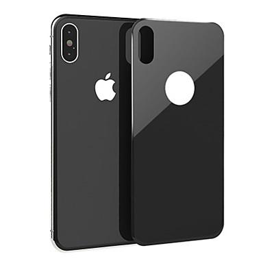 voordelige iPhone screenprotectors-AppleScreen ProtectoriPhone XS 9H-hardheid Achterkantbescherming 1 stuks Gehard Glas