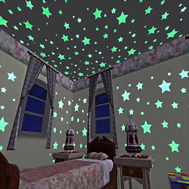 Dekoratív falmatricák - 3D-s falmatricák / Világító falimatricák Landscape Nappali szoba / Hálószoba / Konyha