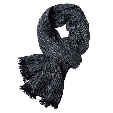 povoljno Zimski modni dodaci-Muškarci Jednobojni Osnovni Pravokutnik