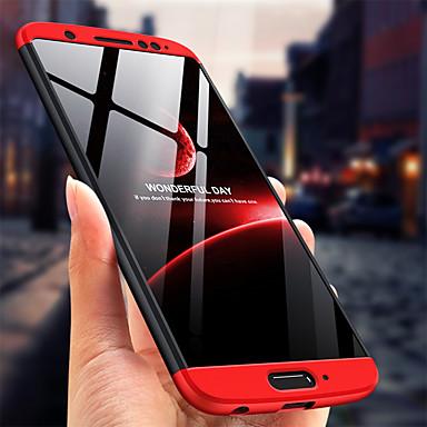 Недорогие Чехлы и кейсы для Motorola-Кейс для Назначение Motorola MOTO G6 / Moto G5s Plus Ультратонкий Чехол Однотонный Твердый ПК