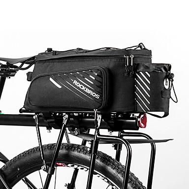 ROCKBROS 9-12 L Bike Trunk Bags Vodootporno Podesan za nošenje Torba za bicikl Terilen Torba za bicikl Torbe za biciklizam Ostale slične veličine telefoni Bicikl