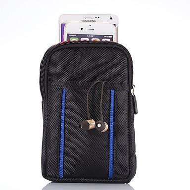 """Недорогие Универсальные чехлы и сумочки-Кейс для Назначение Blackberry / Apple / SSamsung Galaxy Универсальный Бумажник для карт Поясные сумки / Мешочек Однотонный Мягкий Ткань """"Оксфорд"""""""