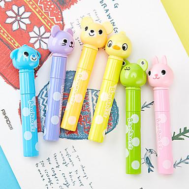 olcso Ceruzák és tollak-Műanyag ház Szivárvány 6db Markerek / Víz színes toll 23.1*18.5 9.7 cm