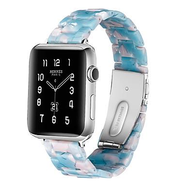 Недорогие Аксессуары для смарт-часов-Ремешок для часов для Серия Apple Watch 5/4/3/2/1 Apple Классическая застежка Керамика Повязка на запястье