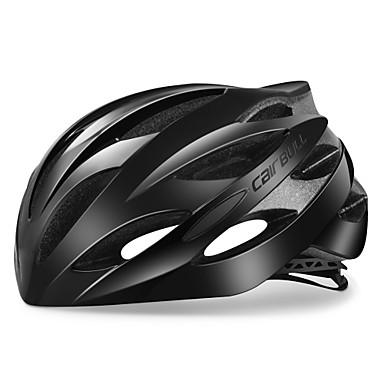 ieftine Căști-CAIRBULL Adulți biciclete Casca 25 Găuri de Ventilaţie CE Rezistent la Impact Modelată integral Ajustabil EPS PC Sport Bicicletă șosea Bicicletă montană Ciclism / Bicicletă - Negru Gri+Alb Negru / Alb