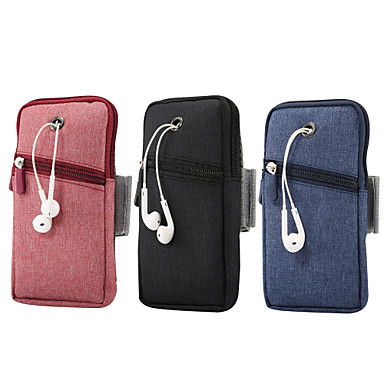 Недорогие Универсальные чехлы и сумочки-6,5-дюймовый чехол для универсального держателя карты сумка / поясная твердая оксфордская ткань