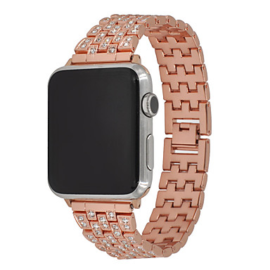 cheap Smartwatch Accessories-Watch Band for Apple Watch Series 5/4/3/2/1 Apple Modern Buckle Stainless Steel Wrist Strap