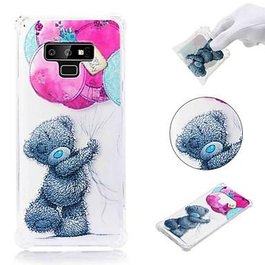 voordelige Galaxy Note-serie hoesjes / covers-hoesje Voor Samsung Galaxy Note 9 / Note 8 Schokbestendig / Transparant / Patroon Achterkant dier Zacht TPU