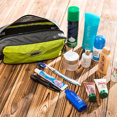 billige Rejsetasker-Rejsebagageorganisator Totes & Kosmetiske Tasker Toilettaske Stor kapacitet letvægtsmateriale Toiletsager Multi-funktion Nylon Til Afslappet Rejse Baggage / Holdbar