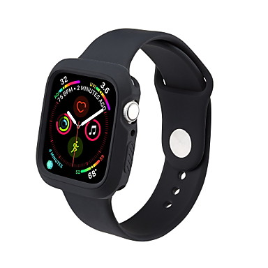 voordelige Apple Watch Cases met band-etui met band voor Apple Watch Series 5 / Apple Watch Series 4 / Apple Watch Series 3 TPU compatibiliteit Apple