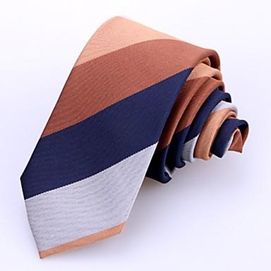 ربطة العنق مخطط رجالي عمل
