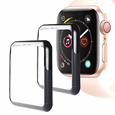 olcso Okosóra kijelzővédők-Képernyővédő fólia Kompatibilitás Apple Watch Series 4 Edzett üveg High Definition (HD) / 9H erősség / Robbanásbiztos 1 db