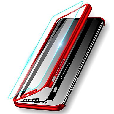 Недорогие Кейсы для iPhone 6-Кейс для Назначение Apple iPhone 11 / iPhone 11 Pro / iPhone 11 Pro Max Защита от удара / Ультратонкий / Матовое Чехол Однотонный Твердый ПК