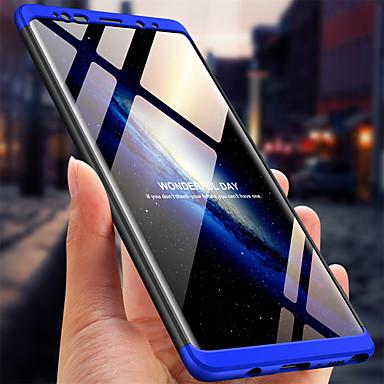 Недорогие Чехлы и кейсы для Galaxy Note-Кейс для Назначение SSamsung Galaxy Note 9 / Note 8 Ультратонкий Чехол Однотонный Твердый ПК