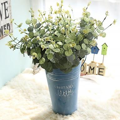 زهور اصطناعية 1 فرع كلاسيكي التقليدية / الكلاسيكية أسلوب بسيط نباتات الزهور الخالدة أزهار الطاولة