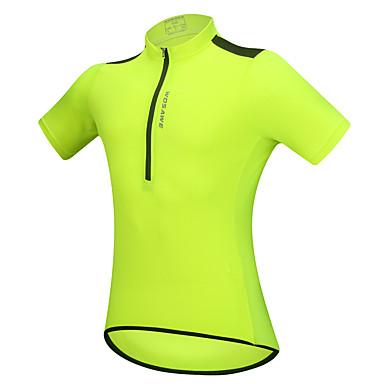 Недорогие Мотоциклетные куртки-WOSAWE Одежда для мотоциклов Короткие рукава для Все Полиэстер Лето Отражающая поверхность / Дышащий / Тонкий дизайн