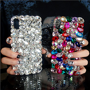 voordelige iPhone X hoesjes-hoesje Voor Apple iPhone XS / iPhone XR / iPhone XS Max Strass Achterkant Strass Hard Acryl