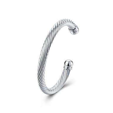 voordelige Heren Armband-Heren Armband Klassiek Klassiek Standaard Koper Armband sieraden Zilver Voor Dagelijks Werk / Verzilverd
