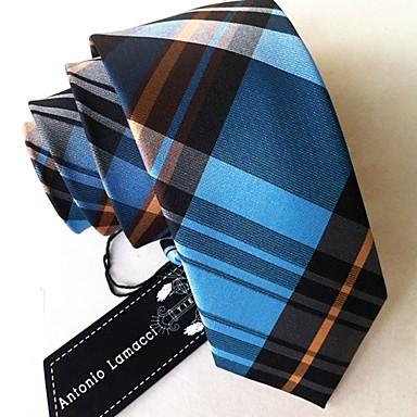 ieftine Cravate-Bărbați Dungi Birou Cravată