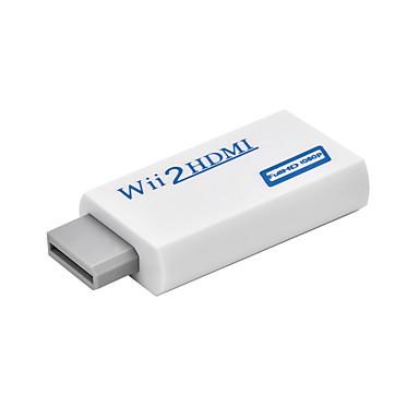 ieftine Audio & Video-Wii to HDMI 3.5mm audio Jack HDMI 1.4 Bărbați-Damă Scurt (Sub 20cm)