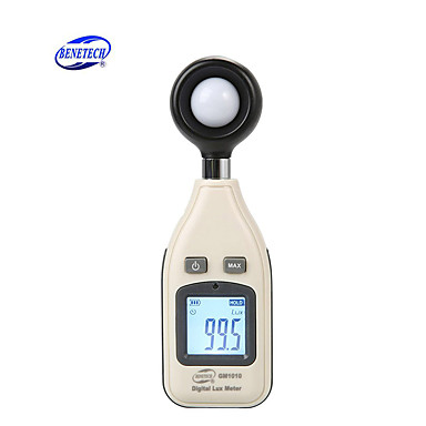 mjerač svjetlosti luksometar digitalno pozadinsko osvjetljenje 0 ~ 200000 luksometar luminometer fotometar lux / fc lm tester